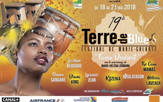 terre de blues 2018 affiche officielle