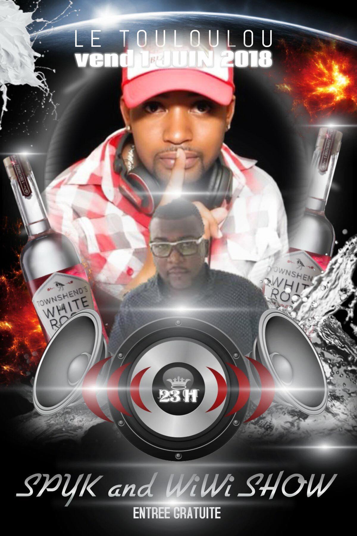 1er Juin – DJ Show au Touloulou Capesterre