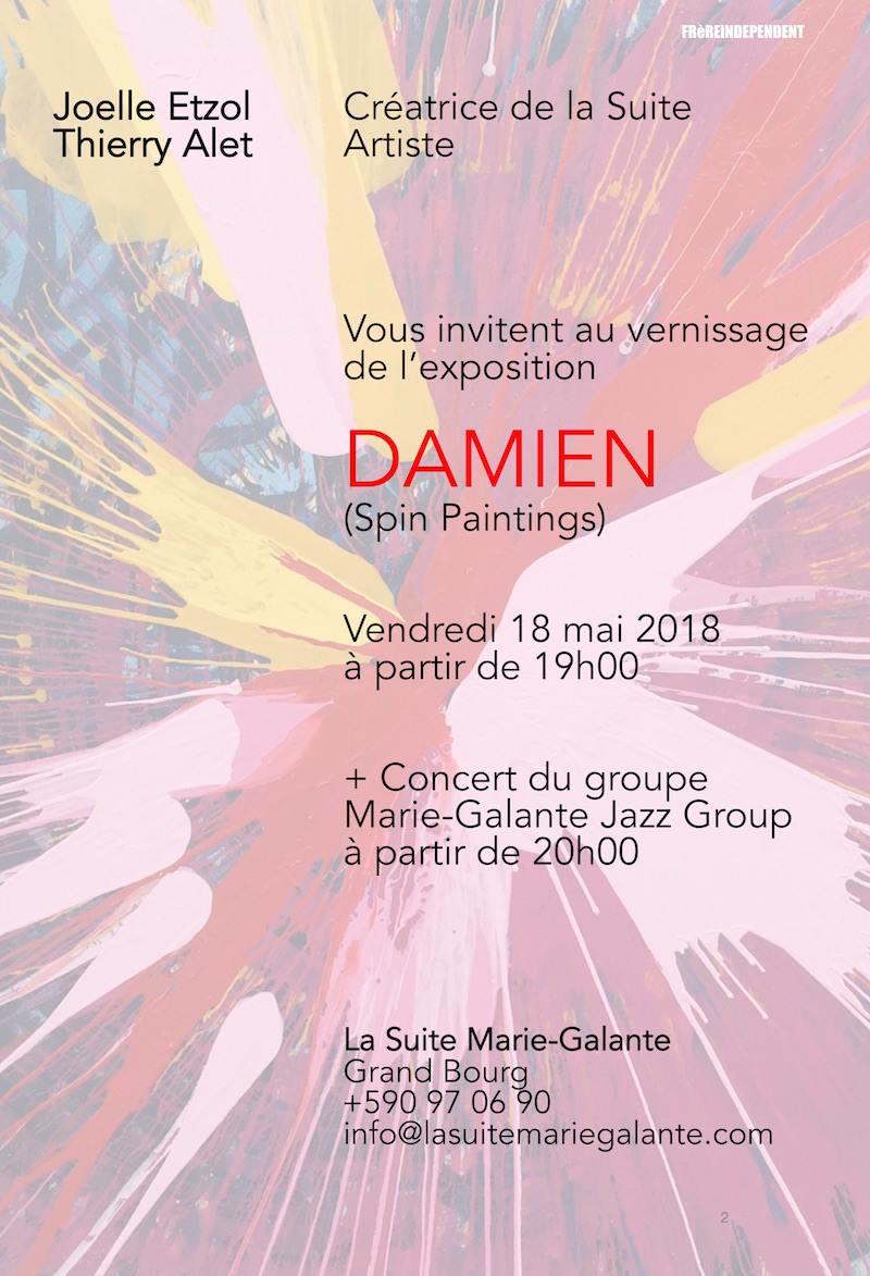 ven 18 Expo painting et Concert avec le Marie Galante Jazz Band