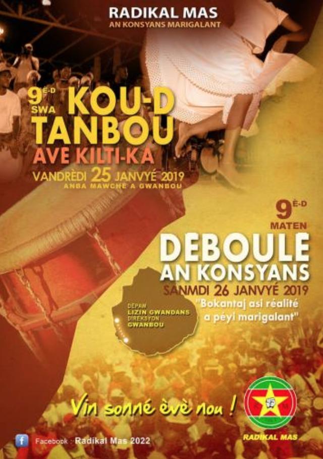 Vendredi 25 – Lewoz à Grand Bourg après le Déboulé