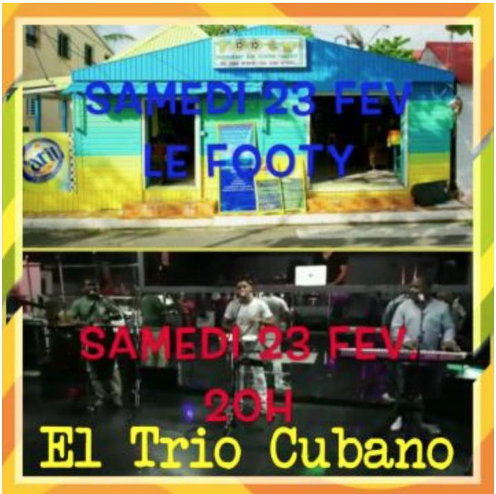 Sam 23 – Trio Cubano au Footy
