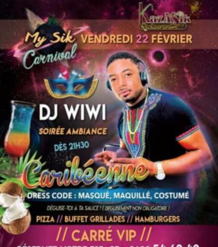 22 Fév – My Sik fait son carnaval à Grand Bourg