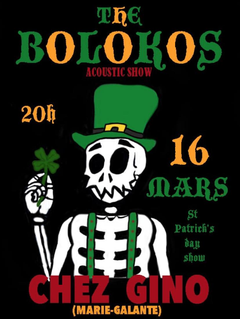 Samedi 16 – Les Bolokos de retour Chez Gino