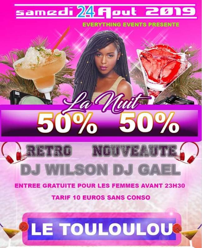 24 Aout – soirée disco au Touloulou