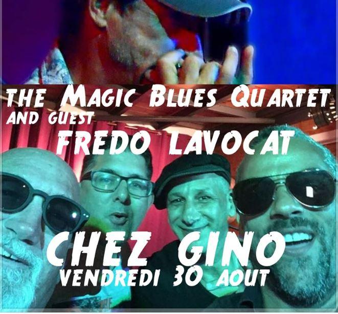 30 Août – une soirée très Rock Chez Gino