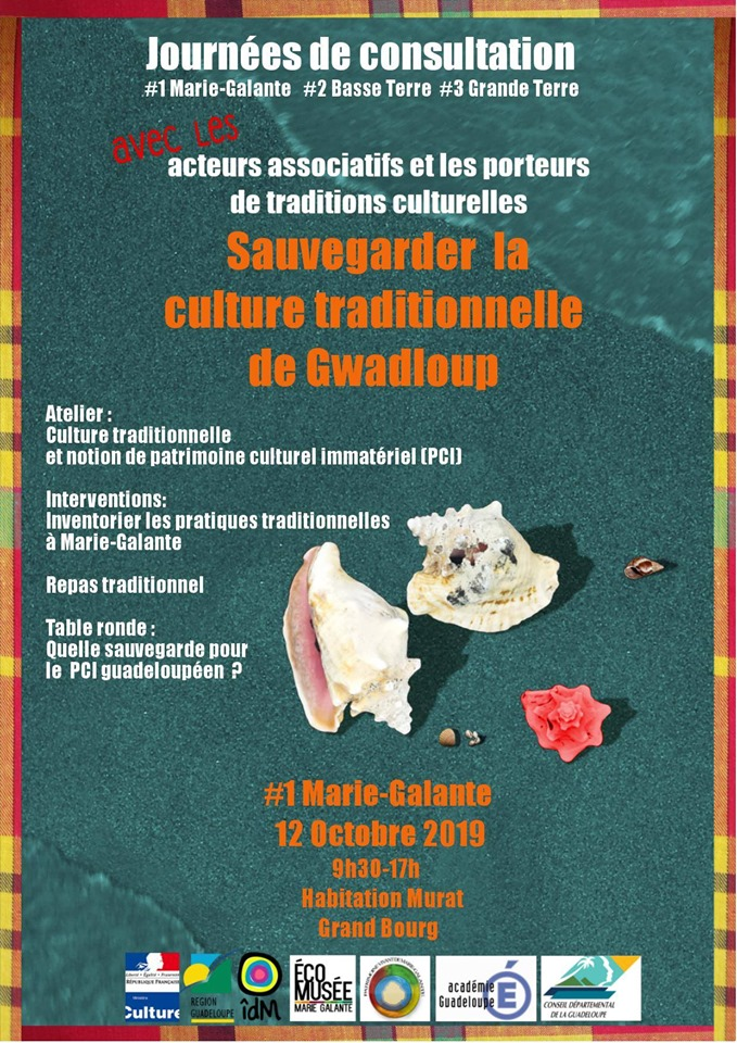 12 oct – journees tables rondes preservation culture marie galante