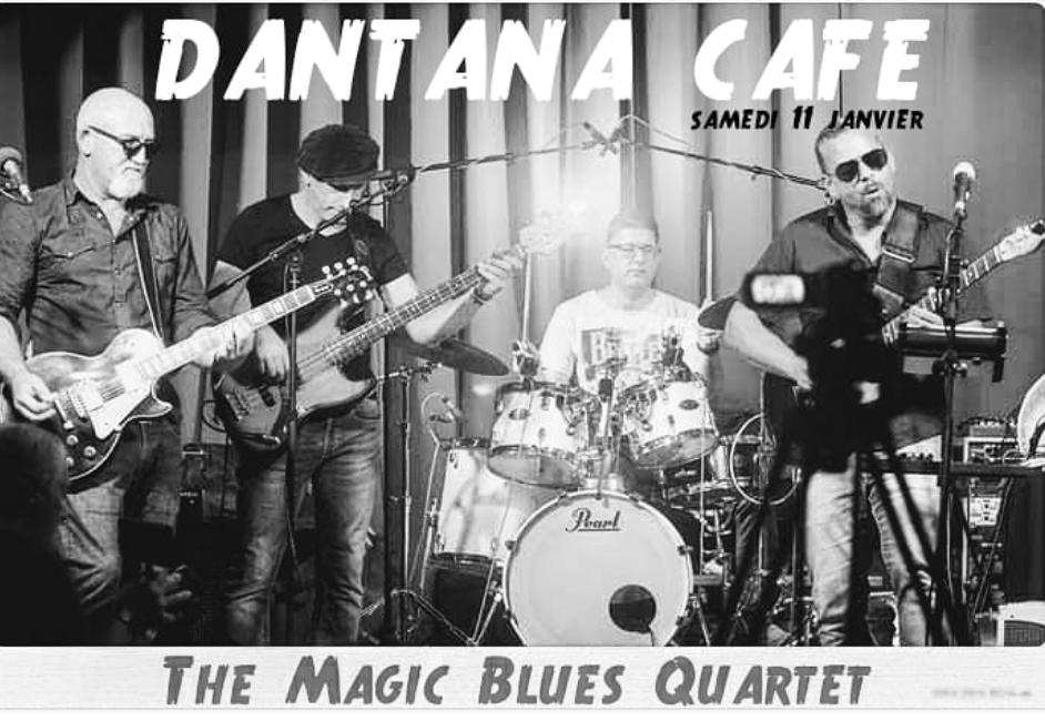 11 janvier – Magic Quartet au Dantana