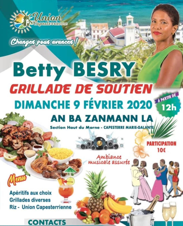 9 février – barbecue en musique pour Betty Besry