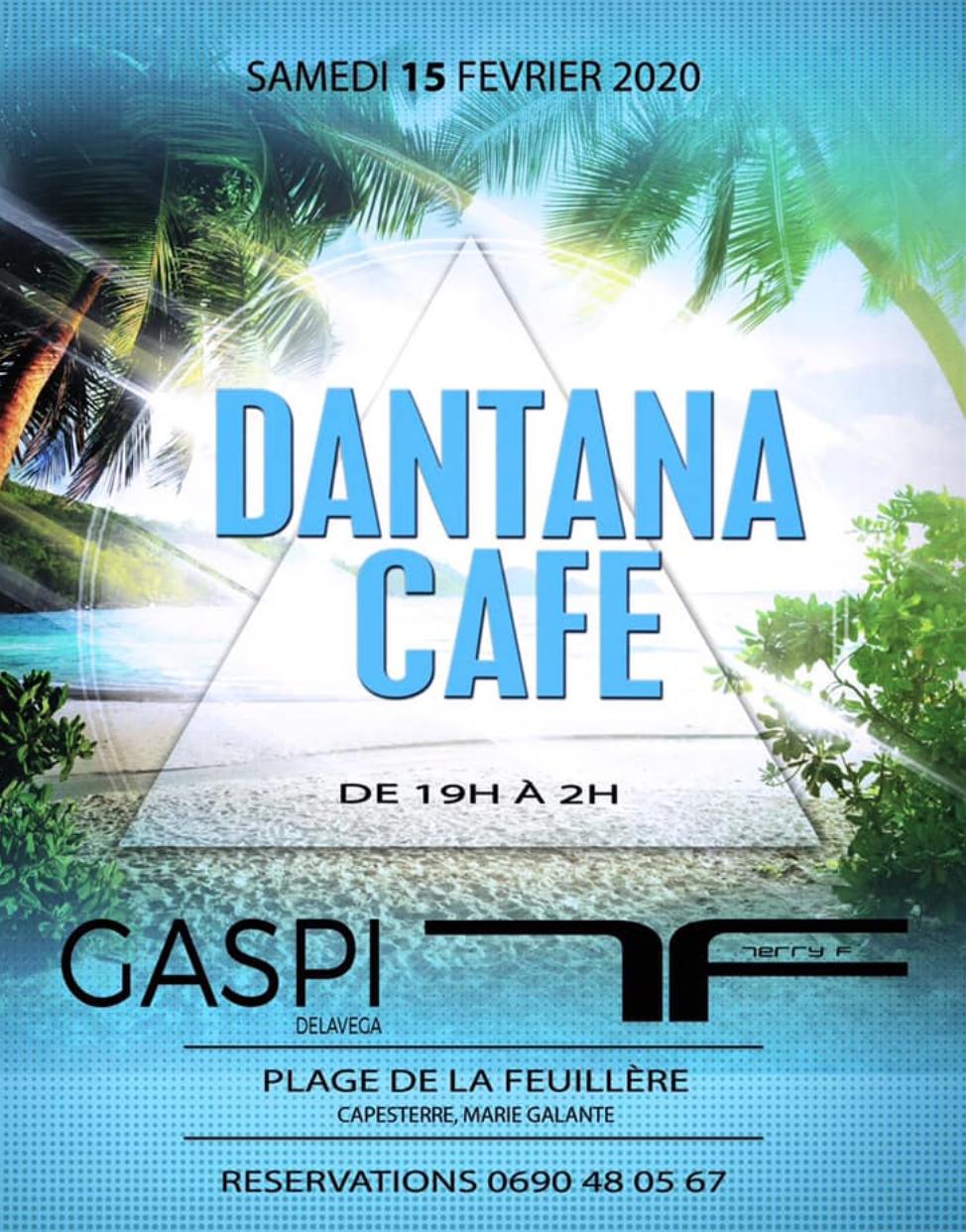 15 Février – DJ Gaspi au Dantana Café