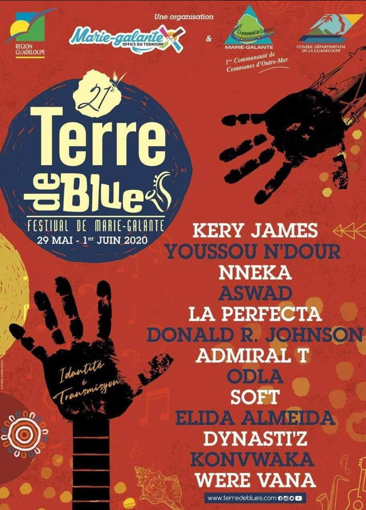 TERRE DE BLUES 2020 Marie-Galante, suivez le guide
