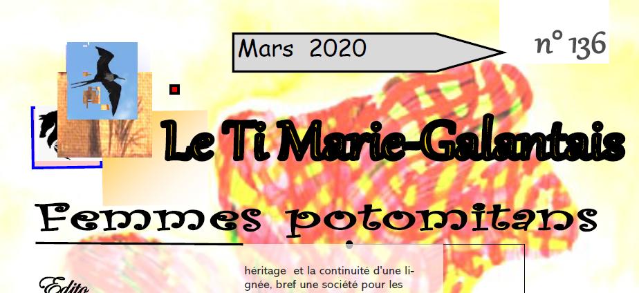 Journal Marie Galante : à lire le dernier numéro